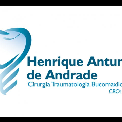 Identidade Visual Dr. Henrique Antundes de Andrade horizontal.